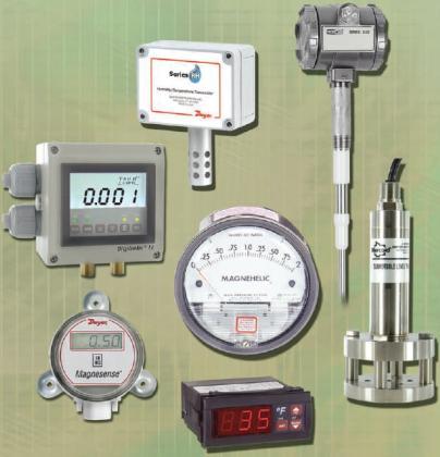 Измерительные приборы Dwyer