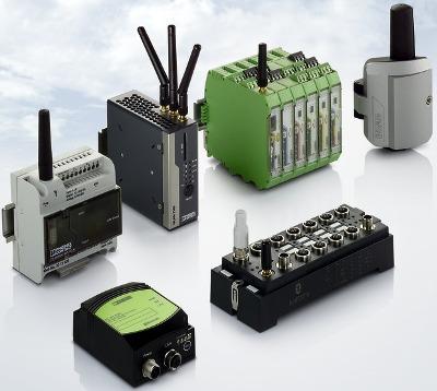 Продукция Phoenix Contact для систем беспроводной передачи данных