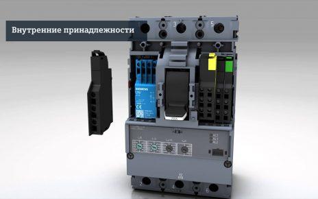 Выключатель в литом корпусе 3VA