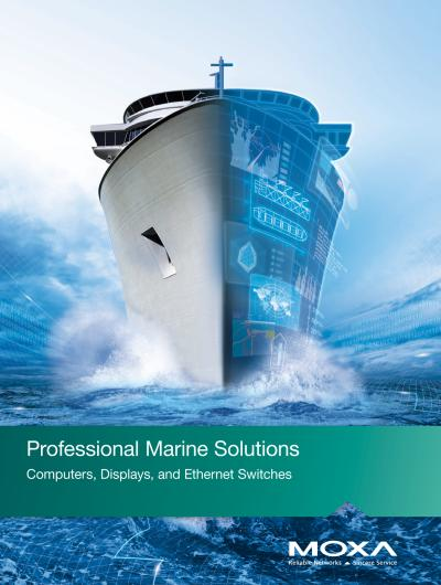 Moxa professional marine solutions