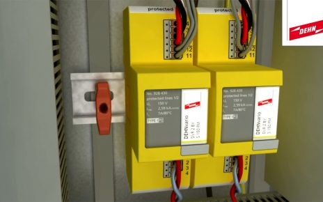 Lightning and surge protection for electroacoustic systems with DEHNvario