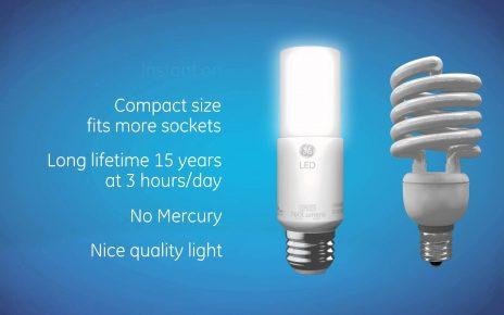 GE LED Bright Stik