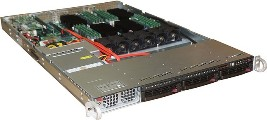Сервер УЭМ на базе процессора Эльбрус