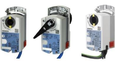 VAV контроллеры и приводы Siemens