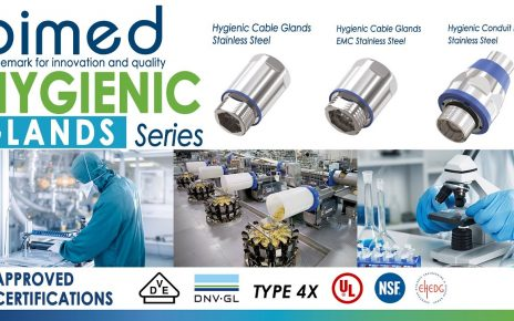 Bimed Hygienic Cable Glands