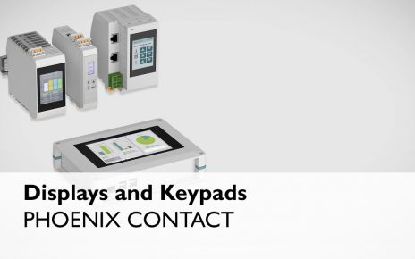 Touch displays and keypads Phoenix Contact