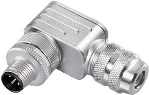 M12 A right-angle connector of the 713 Series binder