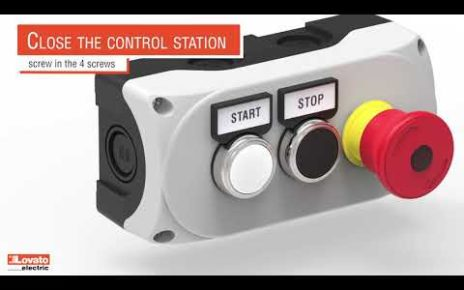 Control station Lovato Electric LPZ